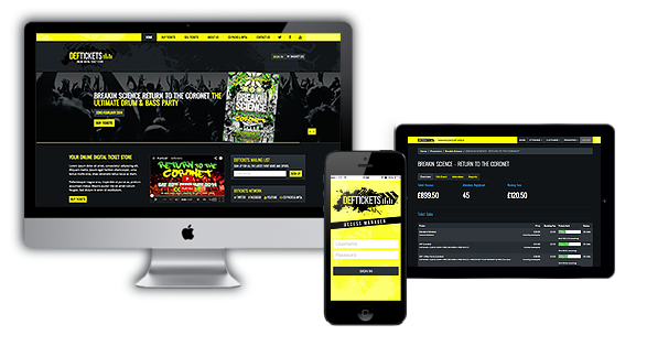 Sell Digital Tickets with DEF Tickets